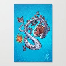 Astro Zodiac Force 05: Dragon Canvas Print