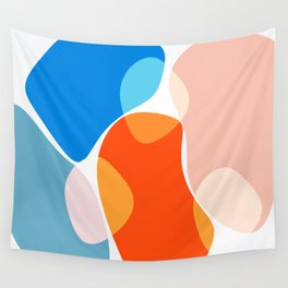 Modern minimal forms 36 Wall Tapestry