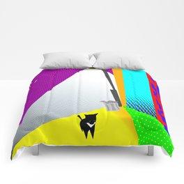 Street Cat Pop Comforters