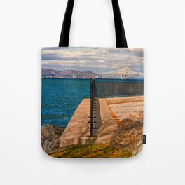 Tappan Zee Bridge Tote Bag