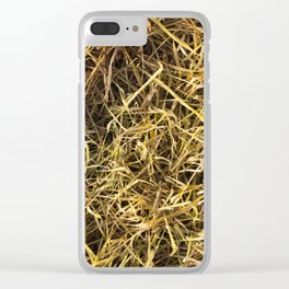 yellowed wheat Clear iPhone Case