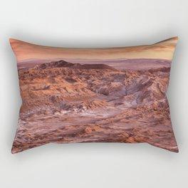 Desert orange Rectangular Pillow