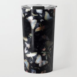Butterfly And Skull Travel Mug