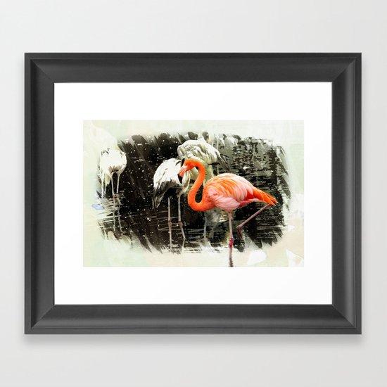 Standing Out Framed Art Print