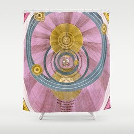 Between two Worlds Shower Curtain