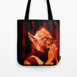 DalaiYOda - RED Tote Bag