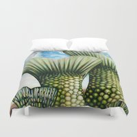 fairy tail Duvet Covers featuring Tail by Thom Whalen