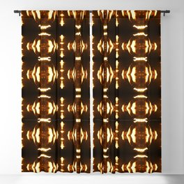 Sound of fire Blackout Curtain