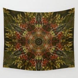 Autumn Kaleidoscope Wall Tapestry