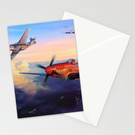 P51 Mustang Stationery Cards