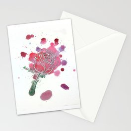 Rose Drops Stationery Cards