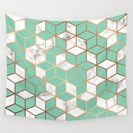 Marble & Geometry 009 Wall Tapestry