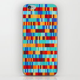 Bach Invention (Fire and Iceberg Colours) iPhone Skin