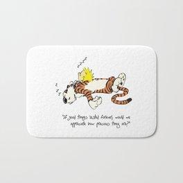 Calvin And Hobbes Sleep Bath Mat