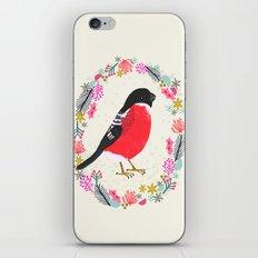 Bullfinch by Andrea Lauren  iPhone & iPod Skin