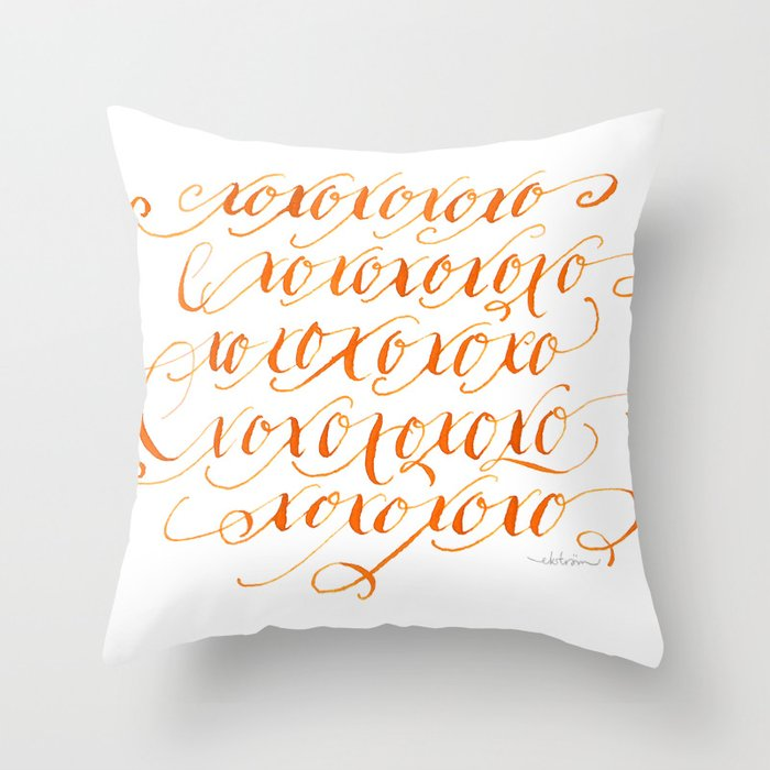 XOx24 Throw Pillow