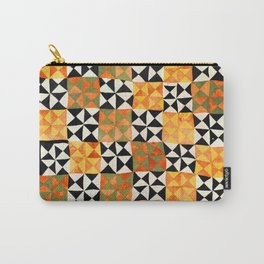 North Afghanistan Cotton Quilt Print Carry-All Pouch