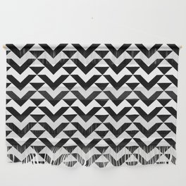 BW Tessellation 6 1 Wall Hanging