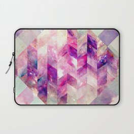 Abstract Geometric Pink Galaxy Laptop Sleeve