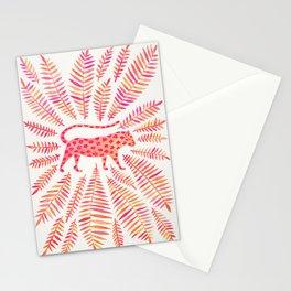 Jaguar – Pink Ombré Palette Stationery Cards