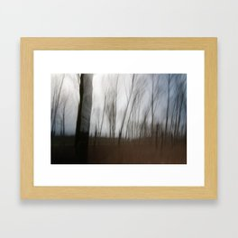 Movement in Nature IV Framed Art Print