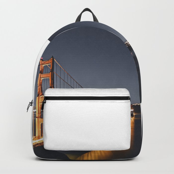 Golden Gate Glowing Backpack