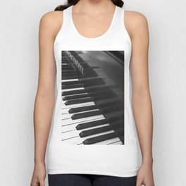 Old grand piano Unisex Tank Top