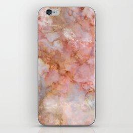 Beautiful & Dreamy Rose Gold Marble iPhone Skin
