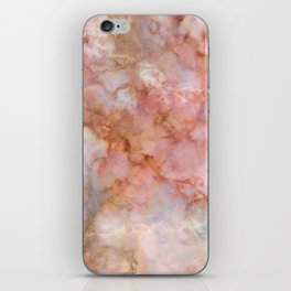 Beautiful & Dreamy Rose Gold Marble iPhone Skin