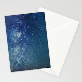 Milky Way Over the Tetons Stationery Cards