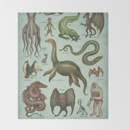 CRYPTIDS Throw Blanket
