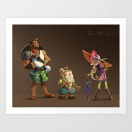 The Adventure Zone - Summer Looks Art Print