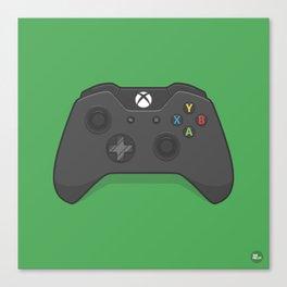 Xbox One Controller Canvas Print