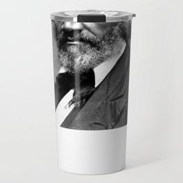 Frederick Douglass Portrait Travel Mug