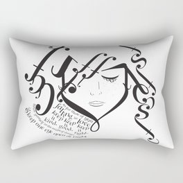 for those of you falling in love Rectangular Pillow