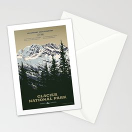 Glacier National Park Stationery Cards