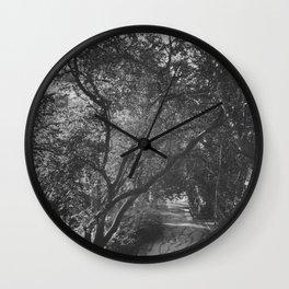 English Country View Wall Clock