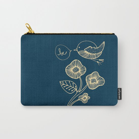 be in blue print Carry-All Pouch