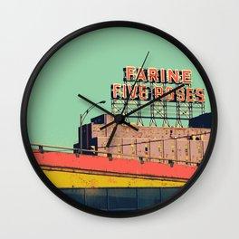 montréal vintage Wall Clock
