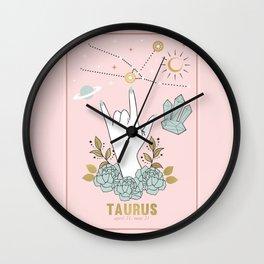 Taurus Zodiac Series Wall Clock