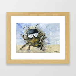 Bee Me Up Framed Art Print