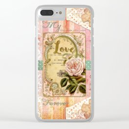 My Love Clear iPhone Case