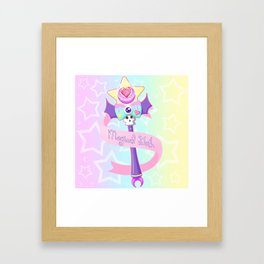 Magical Goth Framed Art Print