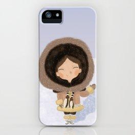 Cute eskimo iPhone Case