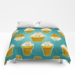 Ice Cream Cones Comforters
