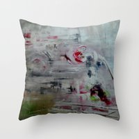 imagerybydianna Throw Pillows featuring orchid mist by Imagery by dianna