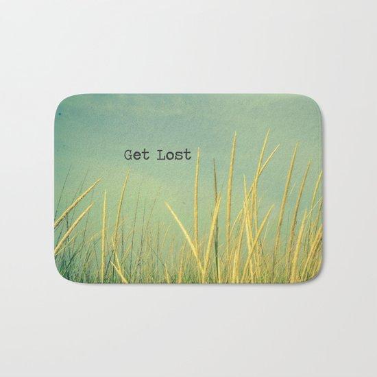 Get Lost Bath Mat