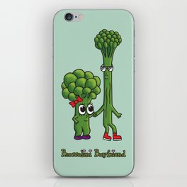 Broccolini Boyfriend iPhone Skin