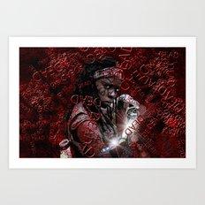 Walking Dead: Michonne Art Print