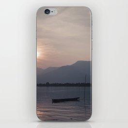 Sunset at Mekong iPhone Skin